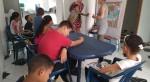 Dansen en bingo spelen in Galapa